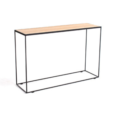 rubic metal wood console