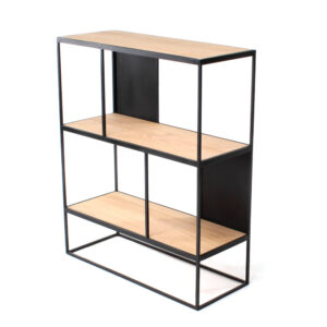 rubic mini shelf oak iron