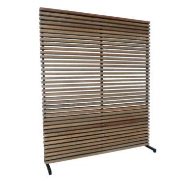 teak outdoor room divider