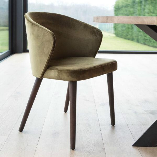 uniq gus chair green brown