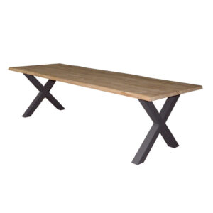 chico wood aluminum outdoor dining table