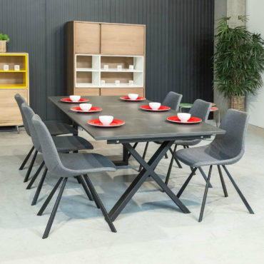 spisa x-base dining table