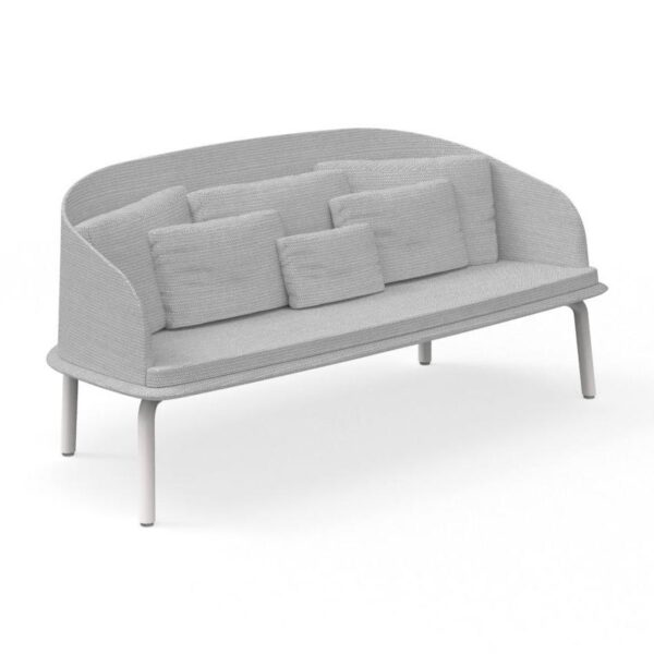 CleoAlu two-seat outdoor sofa